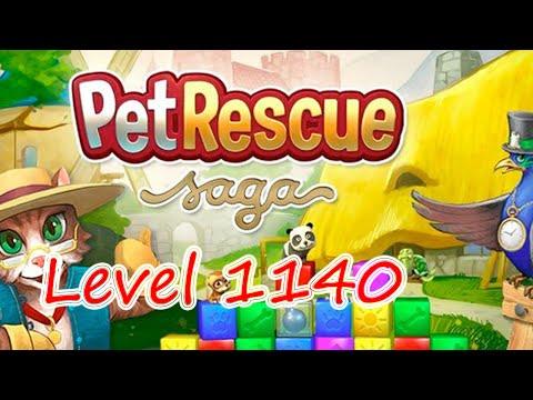 Pet Rescue Saga Level 1140 (NO BOOSTERS)