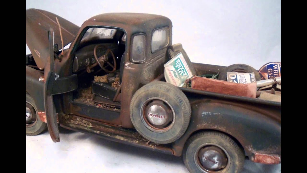 1953 Chevy Pickup Danbury Mint Customized 1/24 Junkyard Junkers ...