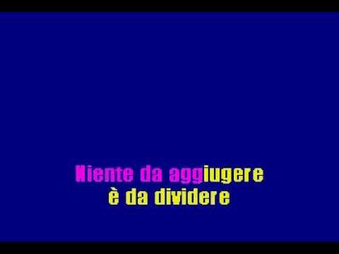 10 - Bella Senza Anima - Karaoke
