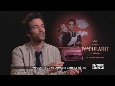 """romain-duris-:-film-""""populaire""""---entrée-libre"""