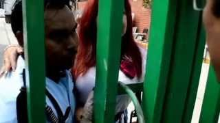 Layda Sansores irrumpe en almacén del IMSS y constata desperdicio de medicinas