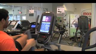 Octane xR6000 Recumbent Elliptical featured and reviewed on SouthFit TV