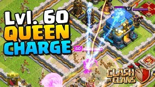QUEEN CHARGE with LVL.60 ARCHER QUEEN! TH12 Attacks Ep. 1 | Clash of Clans