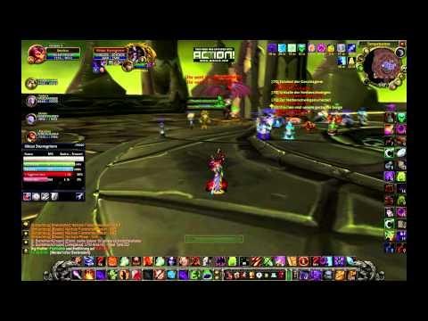 World of Warcraft TBC Hexenmeister vs Illidan. (Tank Aktion) B2B
