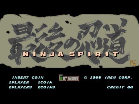 Ninja Spirit 1988 Irem Mame Retro Arcade Games