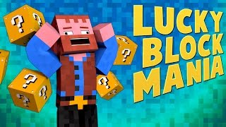 LUCKY BLOCK MANIA ★ Minecraft Mods (Crazy Craft 2)