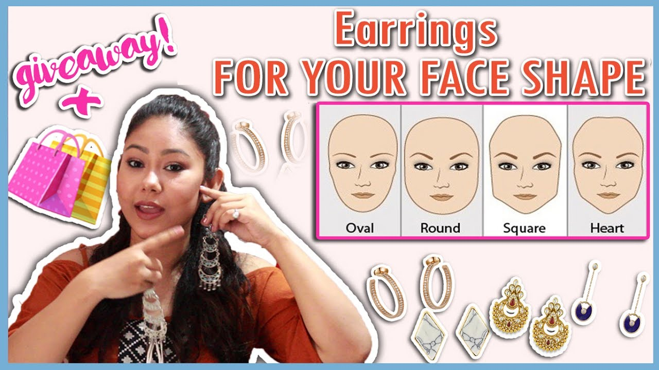 Best Earrings To Suit Your Face Shape: Round, Oval, Heart ...