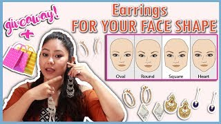 Best Earrings To Suit Your Face Shape: Round, Oval, Heart, Square-How To Choose | ThatQuirkyMiss