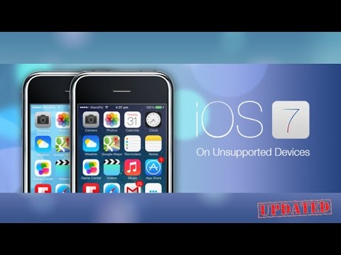 *Updated : How to Get iOS 7 on iPhone 3G/3GS - iPod Touch 2G/3G/4G - iPad 1 (Older Devices)