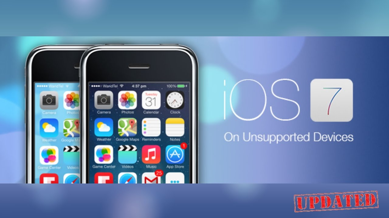 Updated : How to Get iOS 7 on iPhone 3G/3GS - iPod Touch 2G/3G/4G ...