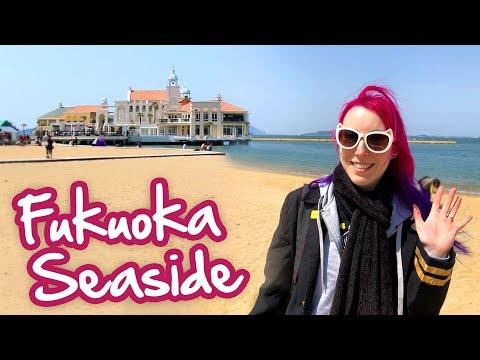 Momochi Seaside Park & Uminonakamichi - Fukuoka Vlog