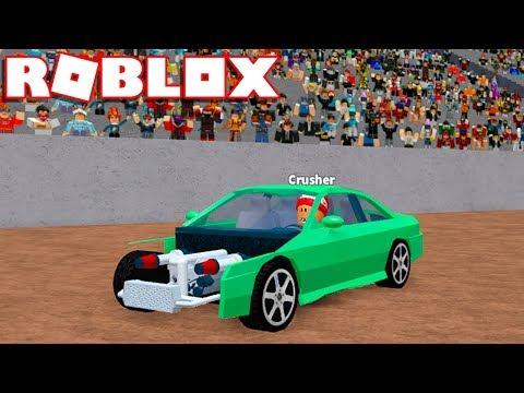 Roblox → NOVO MODO DEMOLIÇÃO DE CARROS !! - Roblox Car Crushers 2 Derby 🎮