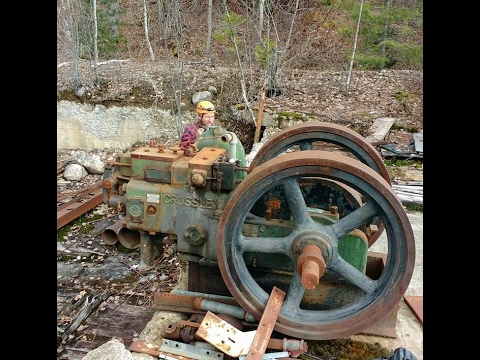 Old mining equipment Jackpot and explore  two mines!