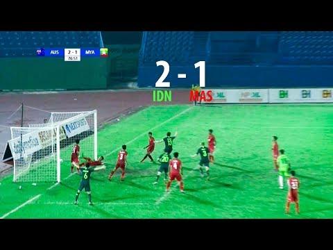 Australia 2 - 1 Myanmar    AFF U18 CHAMPIONSHIP 2019 FULL HD   SEMIFINALS   17/08/2019
