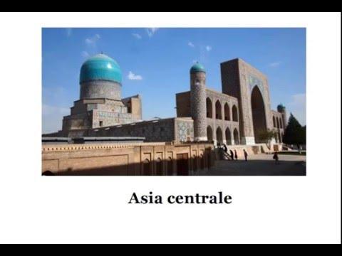 Asia centrale - Aspetto fisico
