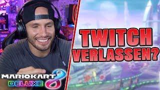 FÜR 1.000.000€ TWITCH VERLASSEN? | Mario Kart 8 Deluxe | Flying Uwe Realtalk