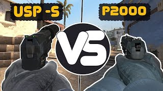USP-S OR P2000 ? WHAT'S BETTER?
