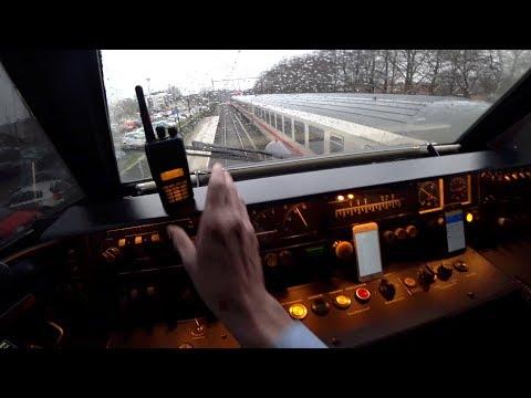 Train Driver's POV Enschede - Deventer ICM ZO ONTSTAAT VERTRAGING doorgedraaide reiziger 2018