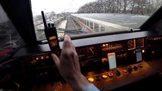TrainDriver´s POV  Enscschede-Deventer ICM HOW TO GET DELAYS a traveler loses his mind 2018