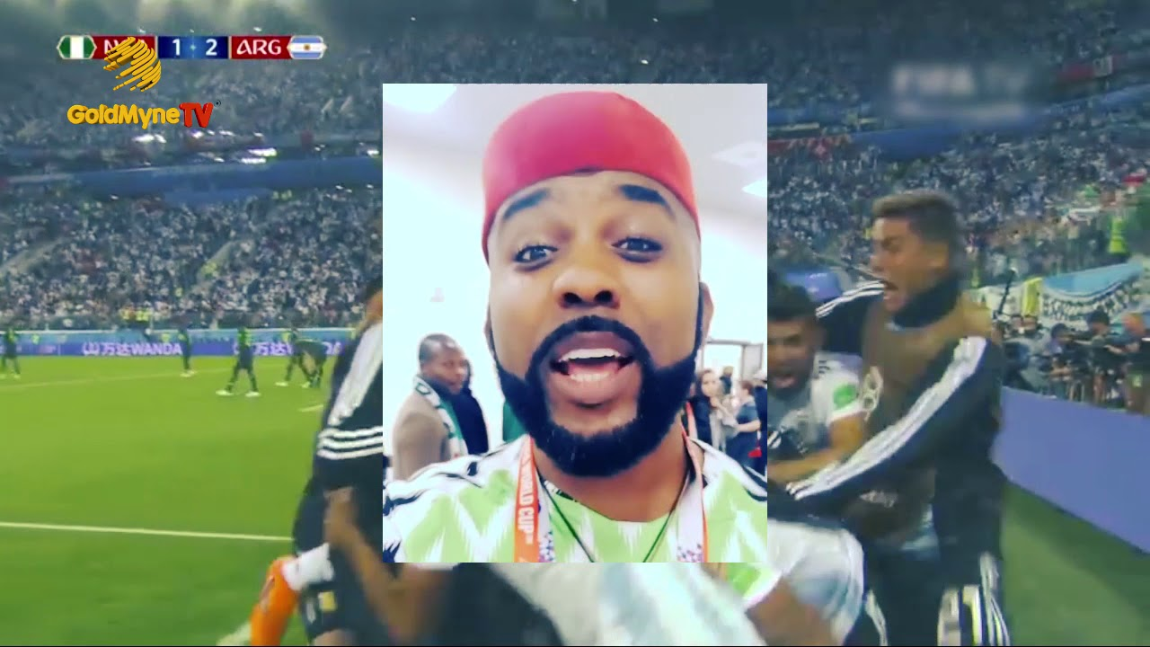 HOW NOLLYWOOD ACTORS REACTED TO THE LOSS OF NIGERIA SUPER EAGLES
