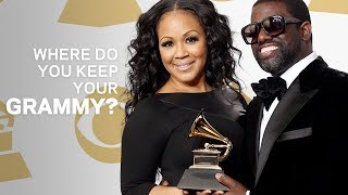 Where Do You Keep Your GRAMMY | Warryn And Erica Campbell