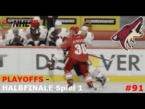 NHL 15 - PLAYOFFS #12: Die Besten ausm Westen! vs. Chicago Blackhawks | Part #91 [Halbfinale]