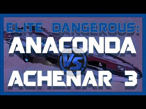 My Search & Rescue Anaconda Vs Achenar 3  Elite: Dangerous