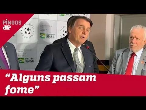 Bolsonaro e a polêmica sobre a fome no Brasil