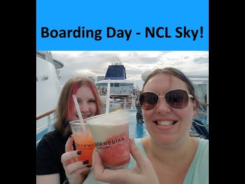 Boarding the Norwegian Sky Cruise Ship! 🌴 [Vlog ep1]