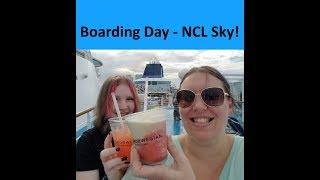 Boarding the Norwegian Sky Cruise Ship! 🌴 [Vlog ep1]
