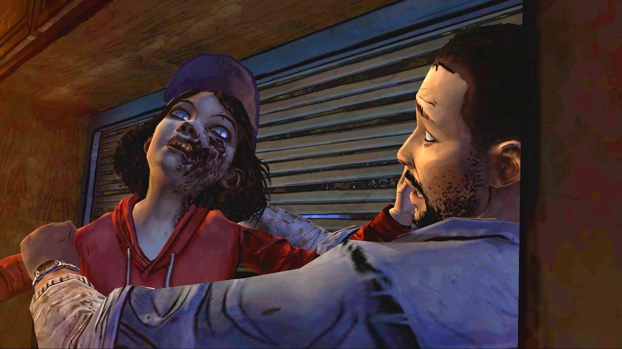 Image result for walking dead zombie clem