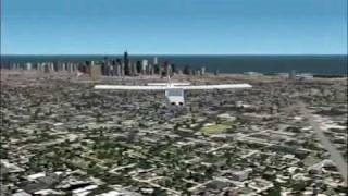 Microsoft Flight Simulator 2002 - Chicago, Illinois
