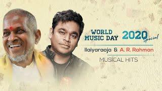 Listen to ilaiyaraaja & a r rahman tamil hit songs jukebox on occasion of #worldmusicday2020. ilayaraja -------- sundari - 00:01 thoda ...