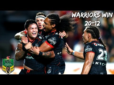 NRL WARRIORS vs DRAGONS Highlights 2018 (Round 7) CROWD REACTIONS!