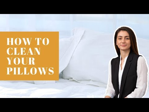 How to Clean Your Pillows - 6 Quick and Easy Tips for a Safer and Better Sleep