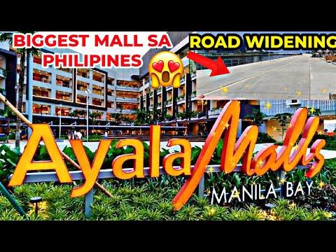 WOW ! BIGGEST AYALA MALLS SA MANILA BAY | NEW ROAD WIDENING ALONG MALL OF ASIA PASAY CITY |SEPT 2020