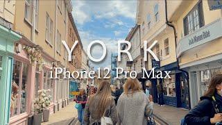 walking in York: 4K HDR 영국요크 골…