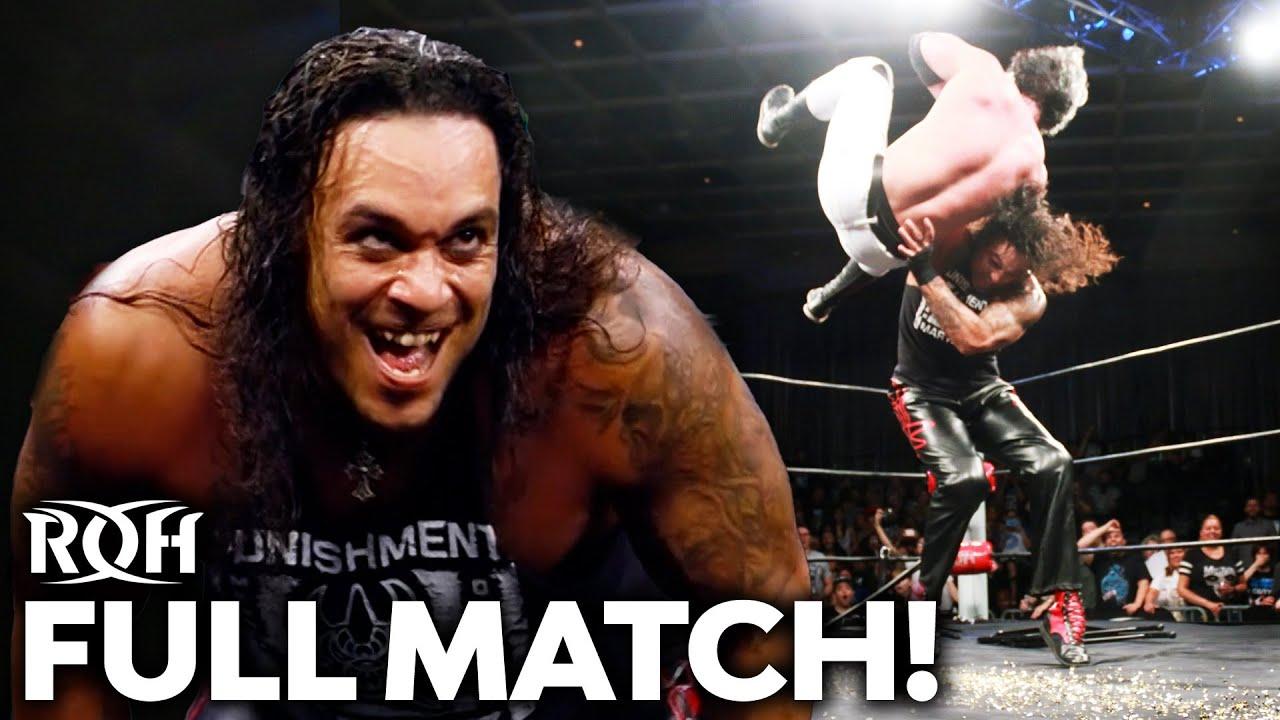Punishment Martinez vs Jay White: Street Fight! FULL MATCH (Death Before Dishonor 2017)