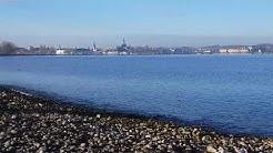 Bodensee an Weihnachten🎄Kreuzlingen Seepark. Tipp1 Müllsammeln bei Sonne und frischer Winterluft.