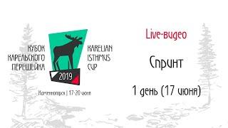 �������� ���� Кубок Карельского Перешейка 2019  Спринт (1 день) | онлайн ������
