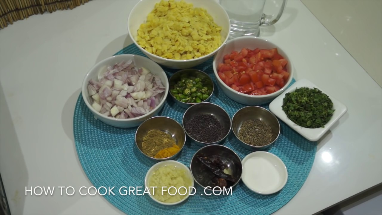 how to prepare dhal curry