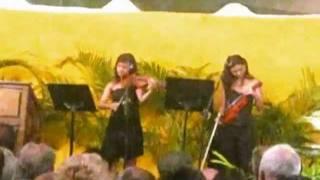 ''Dama Antañona'' Dúo de Violin y piano acompañante en ''La Isabela'' Valencia, Venezuela
