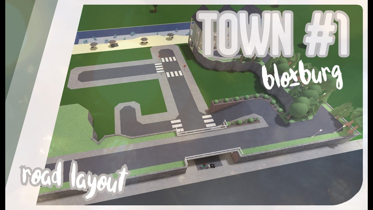 Welcome To Bloxburg Town Part 1 Road Layout Speedbuild Youtube Adding more and more buildings to my new bloxburg city as always! welcome to bloxburg town part 1 road layout speedbuild
