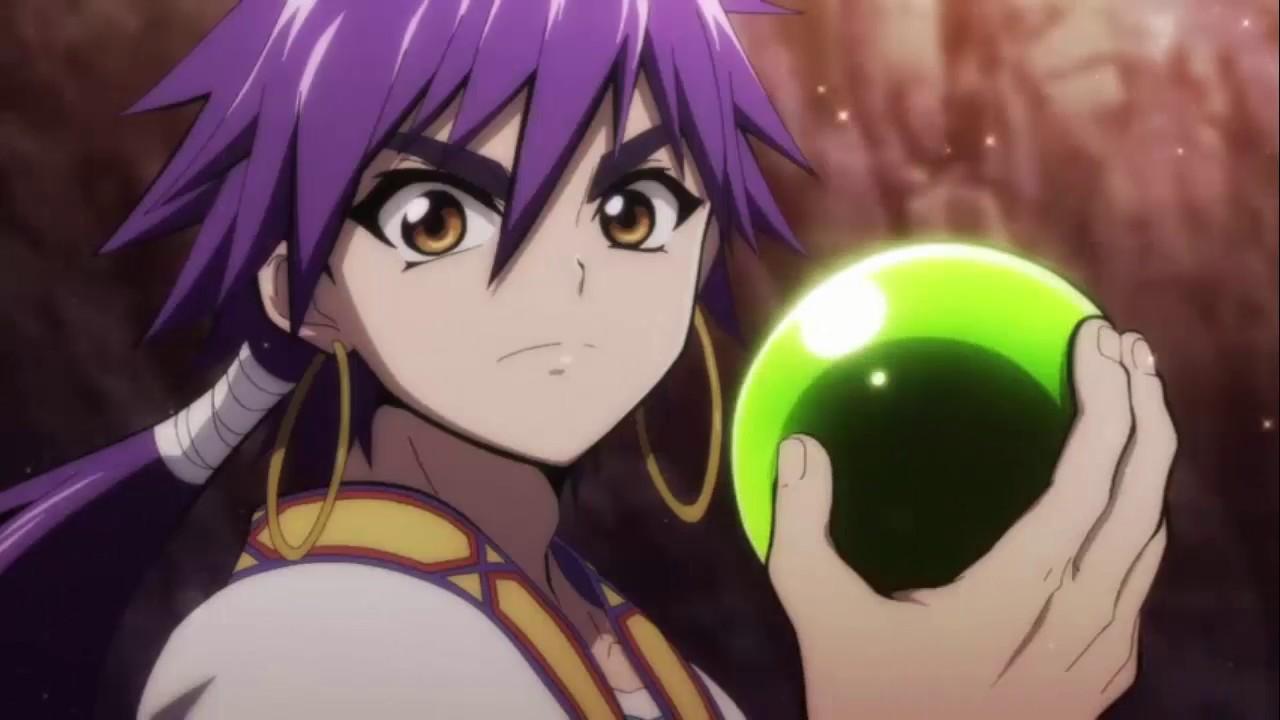 Best Scene Anime - Magi Sinbad No Bouken Dungeon Ball - YouTube