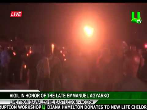 NPP holds candlelight vigil in honor of the late Emmanuel Agyarko