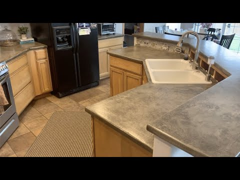 Turn Your Countertops Into Concrete | Leggari Products