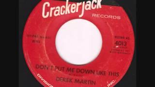 Derek Martin -  Don