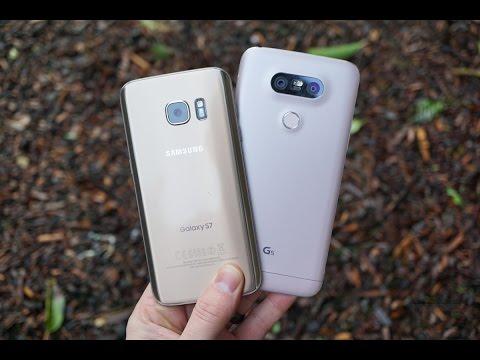 Galaxy S7 vs. LG G5!
