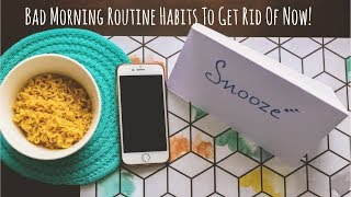 5 Bad Morning Routine Habits To Get Rid Of Now | Morning Routine - Indian | Saloni Srivastava