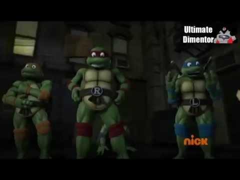 Tortugas Ninja 80´s Opening versión 3D